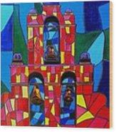 The Three Bells Of San Jose Mission Wood Print
