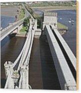 The Three Bridges. Wood Print