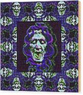 The Three Medusas 20130131 - Horizontal Wood Print