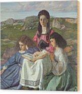 The Three Sisters Of Dean Liddell Wood Print