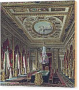 The Throne Room, Carlton House Wood Print