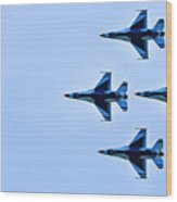 The Thunderbirds Are Here  Wood Print