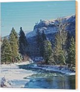 The Tieton River Wood Print by Jeff Swan
