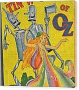 The Tin Woodsman Of Oz Wood Print