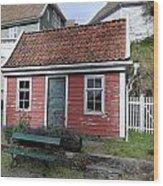 The Tiny House Wood Print