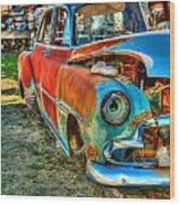 The Tired Chevy 2 Wood Print
