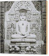 The Tirthankara Wood Print