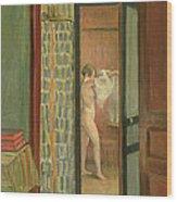 The Toilet Wood Print
