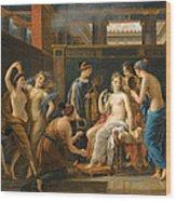 The Toilet Of Venus Wood Print