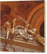 The Tombs At Les Invalides - Paris France - 011319 Wood Print