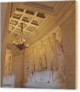 The Tombs At Les Invalides - Paris France - 011329 Wood Print by DC Photographer