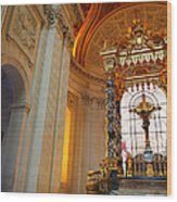 The Tombs At Les Invalides - Paris France - 01135 Wood Print by DC Photographer