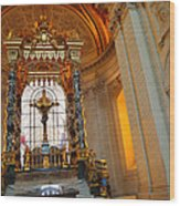 The Tombs At Les Invalides - Paris France - 01136 Wood Print