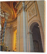 The Tombs At Les Invalides - Paris France - 01138 Wood Print
