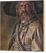 The Tombstone Bandito Wood Print