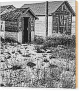 The Tool  Shed Wood Print