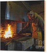 The Torresta Blacksmith Wood Print