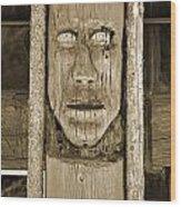 The Totem Wood Print
