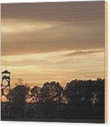 The Tower At Gettysburg Wood Print