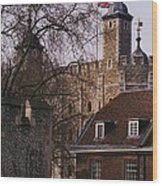 The Tower Of London # 1 Wood Print
