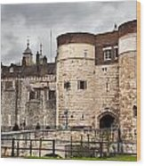 The Tower Of London Uk The Historic Royal Palace And Fortress Wood Print