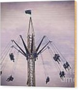 The Tower Swing Ride 1 Wood Print