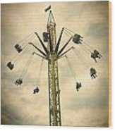 The Tower Swing Ride 2 Wood Print