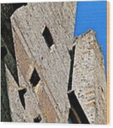 The Towers Of San Gimignano Wood Print