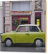 The Trabant Wood Print