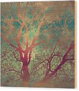 The Tree Called Beautiful Wood Print