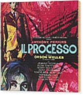 The Trial, Aka Il Processo, From Top Wood Print