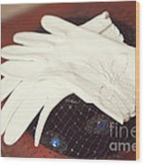 The Trip-the Gloves Wood Print by Kay Pickens
