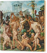 The Triumphal Procession Of Bacchus Wood Print