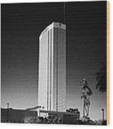 the trump luxury hotel condominium and timeshare Las Vegas Nevada USA Wood Print