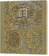 The Turtle Snake Wood Print