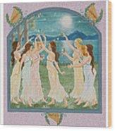 The Twelve Dancing Princesses Wood Print