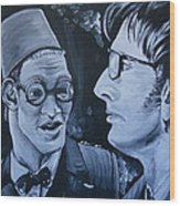 The Two Doctors Wood Print