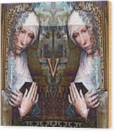 the two Marys at the Alhambra Wood Print