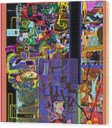 The Tzaddik Lives On Emunah 10 Wood Print