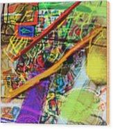 The Tzaddik Lives On Emunah 22b Wood Print