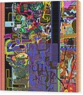 The Tzaddik Lives On Emunah 9 Wood Print