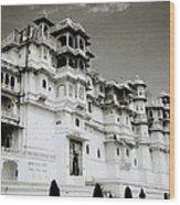 The Udaipur City Palace  Wood Print