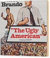 The Ugly American, Us Poster Art, Eiji Wood Print