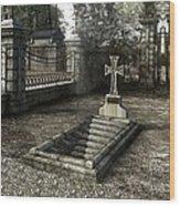 The Un-grave Wood Print