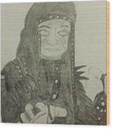 The Undertaker Wood Print