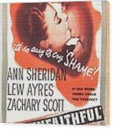 The Unfaithful, Us Poster, Ann Wood Print