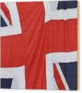 The Union Jack Wood Print