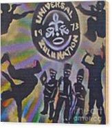 The Universal Zulu Nation Wood Print