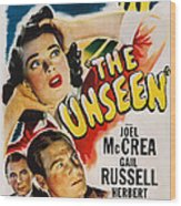 The Unseen, Us Poster Art, Top Gail Wood Print