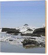 The Untamed Sea Wood Print